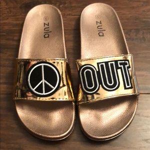Peace Out Zola slides